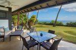 青い海と椰子の木のある家 邸宅からの景色