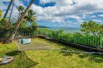 青い海と椰子の木のある家 ハンモック