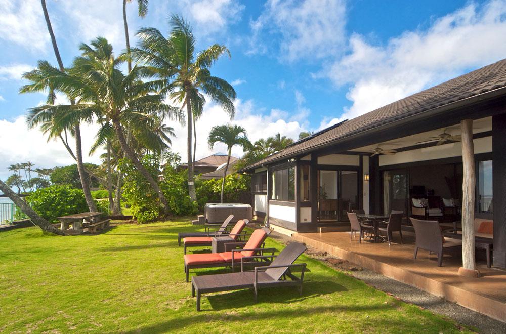 ハワイの貸し別荘
